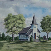 Chapel In Summer Art Print