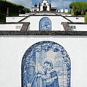 Chapel In The Azores Art Print