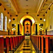 Chapel Interior I Art Print