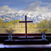 Chapel With A View Art Print by Charles Warren