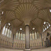 Chapter House, Wells Cathedral, Somerset Uk Art Print