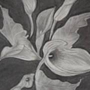 Charcoal Art Print