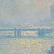 Charing Cross Bridge Art Print