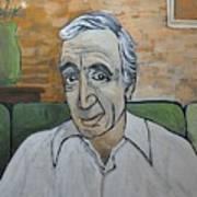 Charles Aznavour Art Print