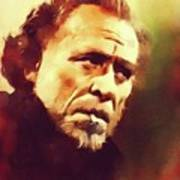 Charles Bukowski, Literary Legend Art Print