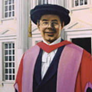 Charles Harpum Receiving Doctorate Of Law Art Print