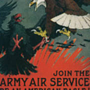 Join The Army Air Service Art Print