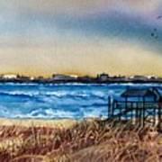 Charleston At Sunset Art Print