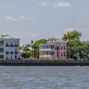 Charleston By The Sea Art Print