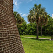 Charleston Fortification Art Print