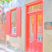 Charleston Sc Catfish Row Art Print