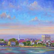 Charleston Skyline Art Print