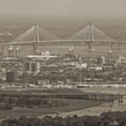 Charleston South Carolina Aerial Art Print by Dustin K Ryan