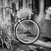 Charleston Street Bike Art Print