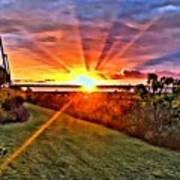 Charleston Sunset Art Print