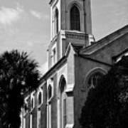 Charleston Unitarian Church Art Print