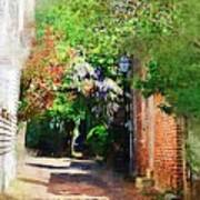 Charlestons Alley Art Print