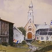 Charlevoix Quebec Art Print