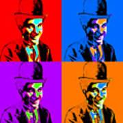 Charlie Chaplin Four 20130212 Art Print by Wingsdomain Art and Photography