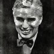 Charlie Chaplin Hollywood Legend Art Print