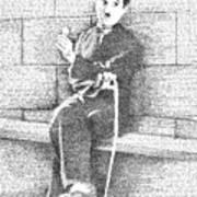 Charlie Chaplin In His Own Words Art Print