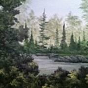Charlie's Tree Art Print