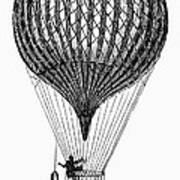 Charli�re Balloon Art Print