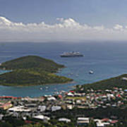 Charlotte Amalie From Above Art Print