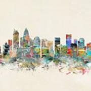 Charlotte City Art Print