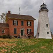 Charlotte-genesee Lighthouse Art Print