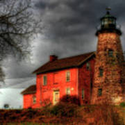 Charlotte-genesee Lighthouse  Art Print