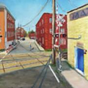 Charlottesville Street Art Print