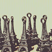 Charming Europe Landmarks Art Print