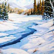 Charming Winter Art Print