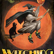Charms Of The Witching Hour Art Print