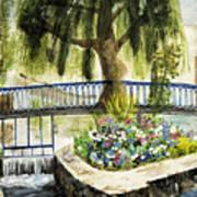 Chartres France Scene Art Print