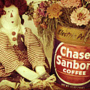 Chase And Sanborn Art Print