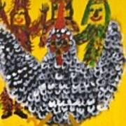 Chasing The Zanga Art Print