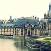 Chateau Chantilly Art Print