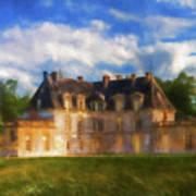 Chateau D'acquigny  Art Print
