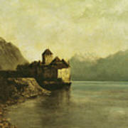 Chateau De Chillon Art Print