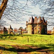Chateau De Landale Art Print