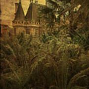 Chateau In The Jungle Art Print