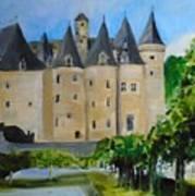 Chateau Jumilhac, France Art Print