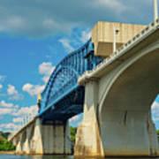 Chattanooga Bridge Art Print