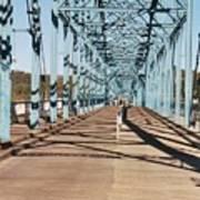 Chattanooga Walking Bridge Art Print by Jake Hartz