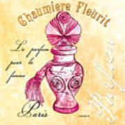 Chaumiere Fleurit Art Print