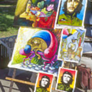 Che Guevara And Other Artwork Art Print