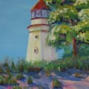 Cheboygan Lighthouse Art Print