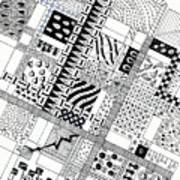 Checkerboard Art Print